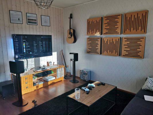 Panele dekoracyjne akustyczne - WaveFuser