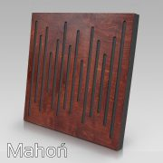 Panel akustyczny WaveFuser Mahoń