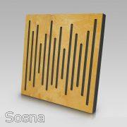 Panel akustyczny WaveFuser Sosna
