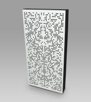 panel akustyczny dyfuzor binarny