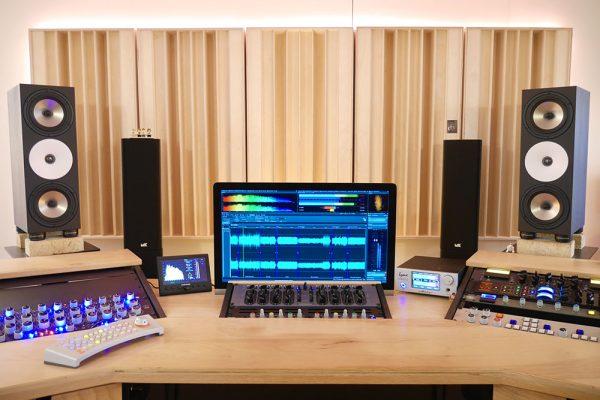 dyfuzory akustyczne w studio