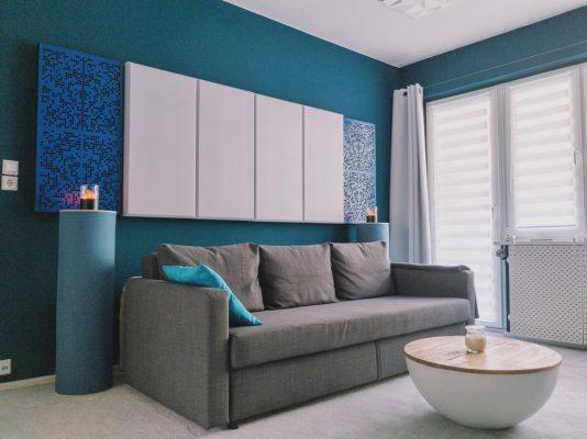panele akustyczne ścienne - panele akustyczne sufitowe