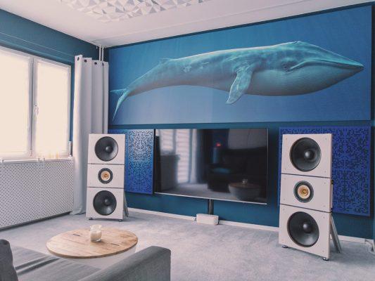 Ustroje akustyczne hybrydowe - pokój odsłuchowy